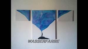 Mit Wasserfarbe Malen : speed art 4 kreativ mit wasserfarben malen youtube ~ Watch28wear.com Haus und Dekorationen