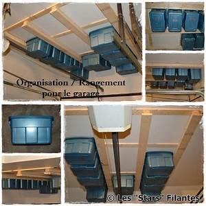 Rangement Plafond Garage : les stars filantes organisation et rangement dans la maison ~ Melissatoandfro.com Idées de Décoration