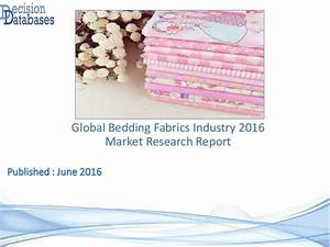 Global Bedding Fabrics Industry Sales and Revenue Forecast ...