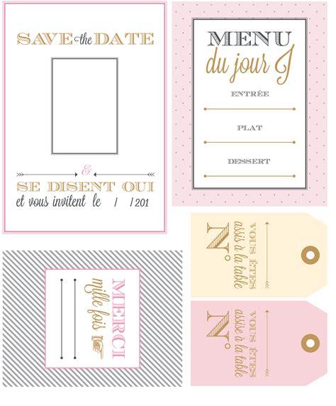 decorer sa cuisine soi meme mariage invitations menus et marque places gratuits prima