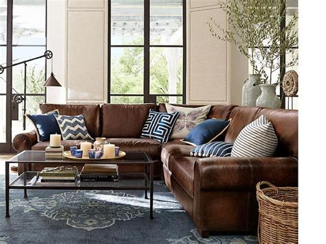 Leather Living Room Ideas by Best 20 Leather Decorating Ideas On