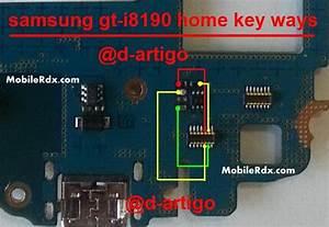 Samsung I8190 Galaxy 3 Home Button Problem Jumper