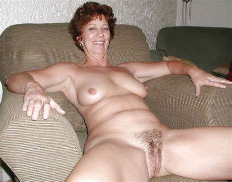 Pretty Red Haired Housewife With Fat Natural Body