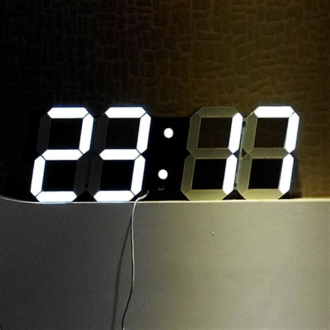 horloge murale digitale design