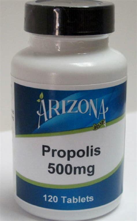 propolis mg  tablets arizona brand nutritionals