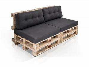 Möbel De Sofas : paletti 2 sitzer sofa aus paletten natur ohne armlehnen ~ Pilothousefishingboats.com Haus und Dekorationen