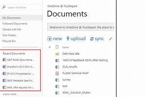 javascript recent documents for currently logged in user With documents in javascript