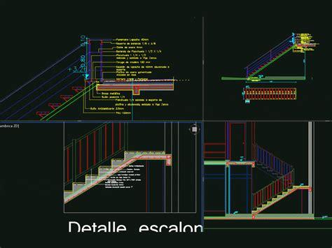 detail metal ladder  reinforced concrete dwg detail