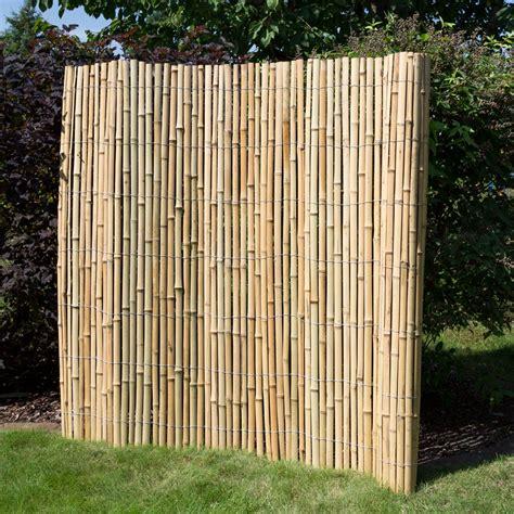 Sichtschutz  Bambus • Zäune  Bambuszäune • Bambus