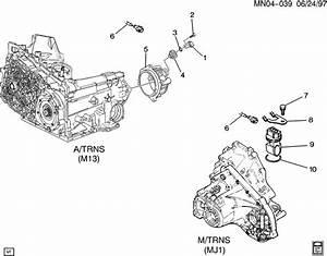 1996 Oldsmobile Cutlass Ciera Speed Sensor  Transmission