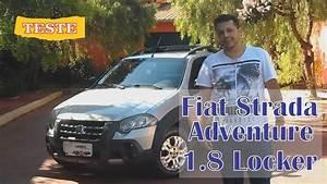 Teste Fiat Strada Adventure 1 8 Locker 2010 Cab  Estendida