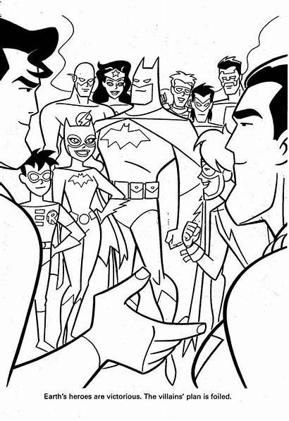 Coloring Arrow Pages Dc Comics Super Heroes