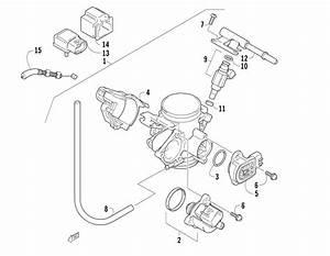 Throttle Body Assembly  U0434 U043b U044f 700 Efi Fis Arctic Cat