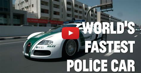 The World's Fastest Police Cars!