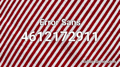 error sans roblox id roblox  codes