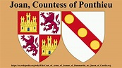 Joan, Countess of Ponthieu - YouTube