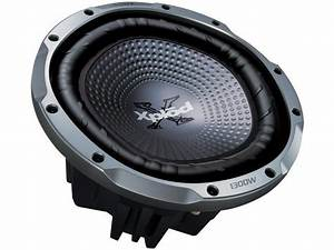 Sony 12 U0026quot  1300w Xplod Single Voice Coil Car Subwoofer
