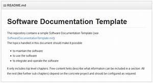 Franz van betteraey for Software application documentation template