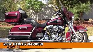 Used 2002 Harley Davidson Electra Glide Classic