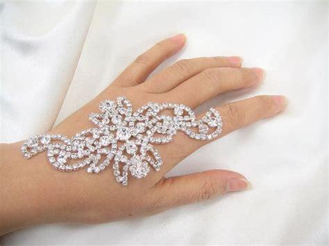 diamante applique diamante applique rhinestone appliquecrystal bridal by