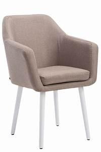 Chaise Tissu Design : chaise salle manger utrecht tissu chaise design scandinave avec accoudoirs ebay ~ Teatrodelosmanantiales.com Idées de Décoration