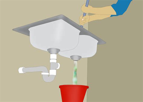 best drain clogged for kitchen sink how to restore water flow to a clogged kitchen drain 15 steps