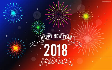 2018 Happy New Year Wallpaper  Merry Christmas & Happy