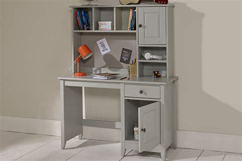 gray desk with hutch jubilee desk with hutch in soft grey