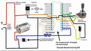 Dc Motor Speed Controller  How To Dc Motor Speed Control Micro-controller