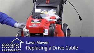 Replacing the Drive Cable on a Lawn Mower - YouTube