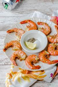 steamed shrimps with and easy seafood recipe