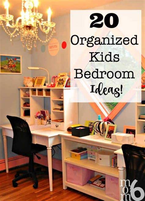 Organize Bedroom by 20 Organized Bedroom Ideas Momof6