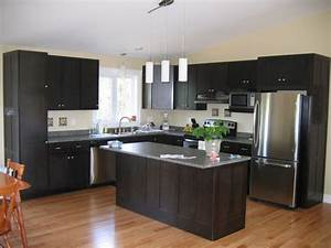 7 best kitchen ideas images on pinterest dark cabinets With best brand of paint for kitchen cabinets with organic wall art