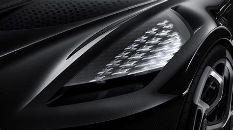 bugatti la voiture noire revealed