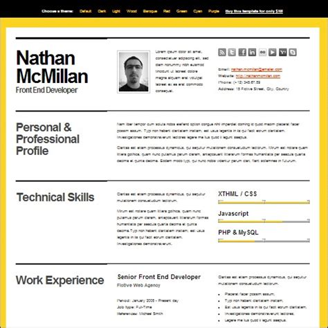 Best Cv Template by 35 Best Cv And R 233 Sum 233 Templates