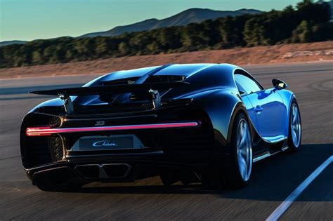 Bugatti Chiron Storms Into Action As World's Most Powerful