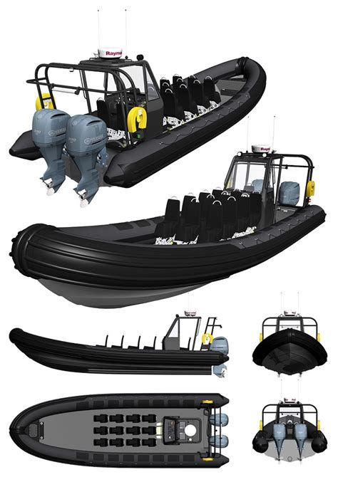 Rib Boat Offshore by New Humber Offshore Commercial Passenger Ribs For Sale
