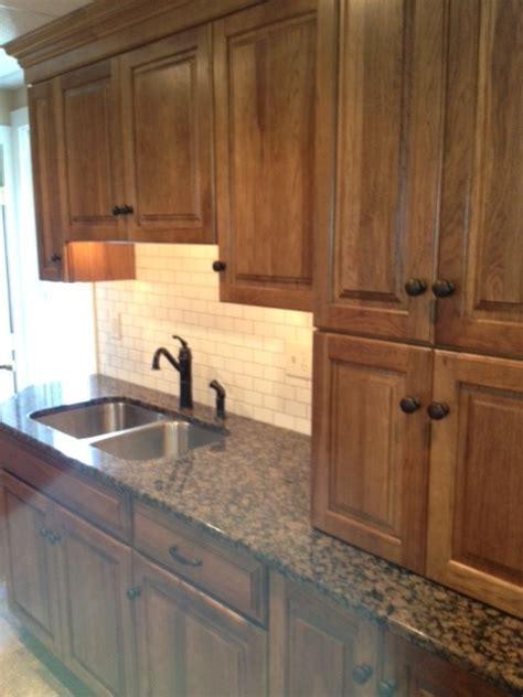 kitchen montclair hickory traditional kitchen