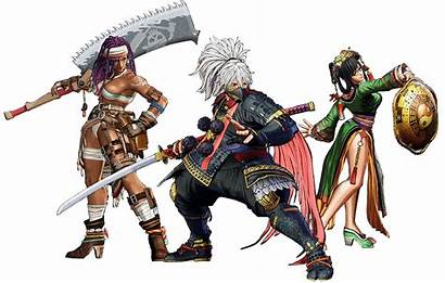 Samurai Shodown Characters Snk Games Fighters Cg