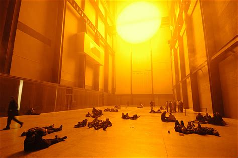 Olafur Eliasson Artwork the weather project by olafur eliasson