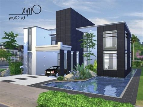 Home Design Resources : Modern House Ideas Sims 4 Pertaining To Property