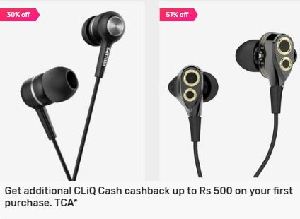 get upto rs 500 cashback on earphones purchase from tata