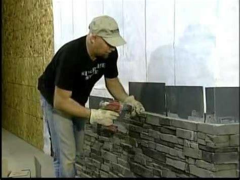 silvermine stone screw  stone veneer installation stack