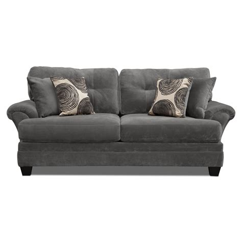 Upholstery Couches by Cordelle Sofa Gray American Signature Furniture