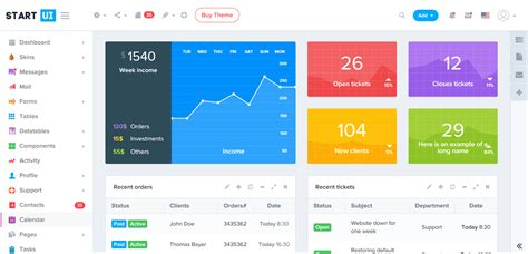 Bootstrap Admin Template 21 Bootstrap 4 Premium Admin Templates