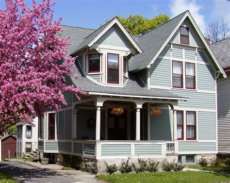 the trend of the exterior paint color ideas inside