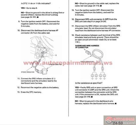 free online car repair manuals download 2007 honda element engine control honda crv 2007 2009 service repair manual auto repair manual forum heavy equipment forums