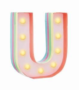 DIY letter light U - HEMA