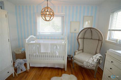 12 Idées Pour Décorer La Chambre D'un Bébé En Bleu