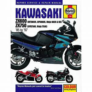 1986 Kawasaki Ninja 600 Wiring Diagram